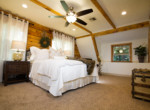 Exquisite master bedroom